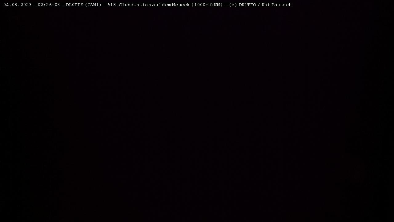 DL0FIS Webcam 1 Live Picture